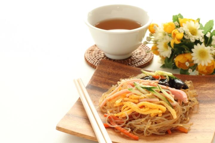 Korean food, japchau